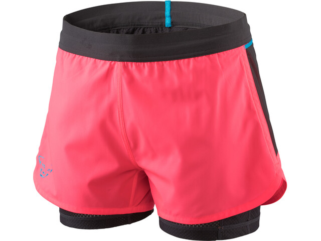 Dynafit Alpine Pro Pantaloncini 2in1 Donna, fluo pink